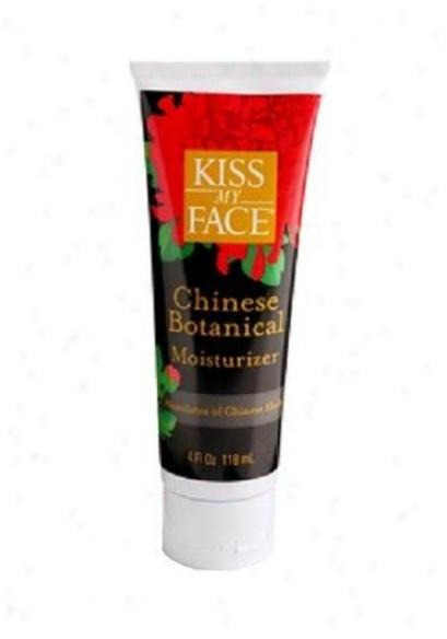 Kiss My Face's Moisturizer Chinese Botanical 4oz