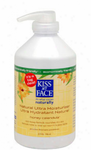 Kiss My Face's Moisturizer Honey Calendula Natural Ultra 32os