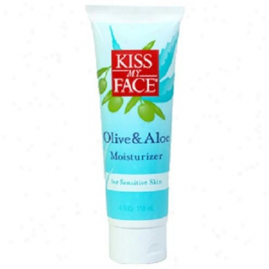 Kiss My Face's Moisturizer Olive & Aloe 4oz