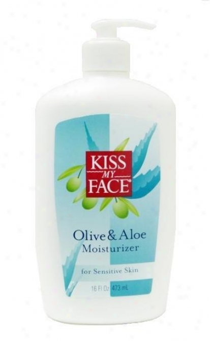 Kiss My Face's Moisturizer Olive & Aloe16oz