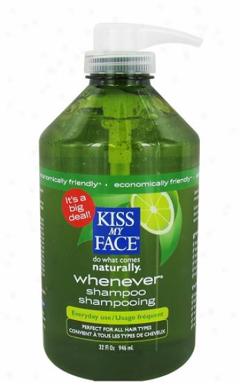 Kiss My Face's Shampoo Whenever W/organic Botanicals 32oz