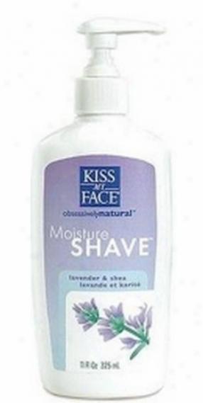 Kiss My Face's Shave Lavender & Shea Moisture 11 Fl Oz