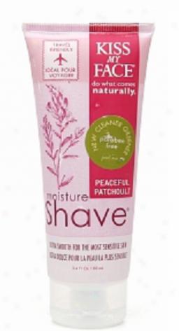 Kuss My Face's Shave Patchouli Moisture 3.4oz