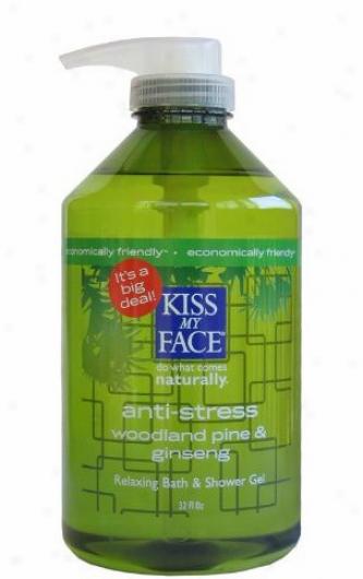 Kiss My Face's Shower Gel Anti-stress 32oz