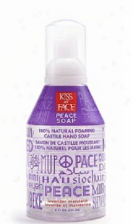Kiss My Face's Soap Liquid Self Foaming Lavender Mandarin Peace 8oz