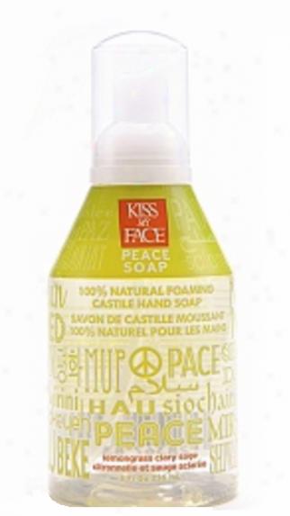 Kiss My Face's Soap Liquid Self Foaming Lemongrass Sage Peace 8oz