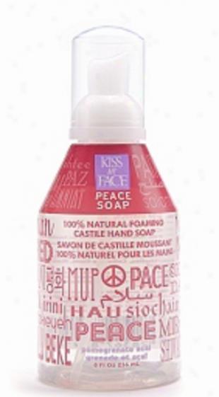 Kiss My Face's Soap Liquid Self Foaming Pomegranate Acai Peace 8.75oz
