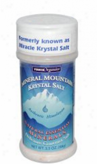 Klmaath's Blue Green Algae Mineral Mountain Krystal Salt 3.5oz