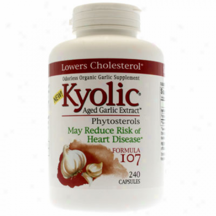 Kyolic's Formula 107 Phytosetrols Formula 240caps
