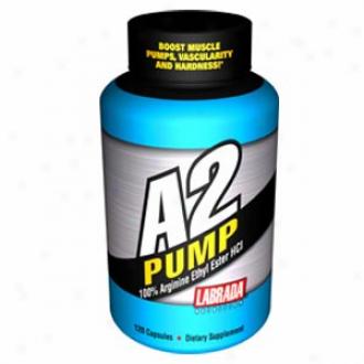 Labrada's A2 Pump 100 Arginine Ethyl Ester Hcl 120caps