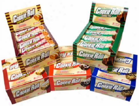 Labrada's Bars Cookie Roll Snack Bar Hi-protein Brownie 12/box