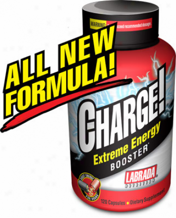 Labrada's Charge Extreme Energy Booster (fat Burner) 120caps