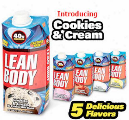 Labrada's Lean Body Rtd Shake Cookies & Cream 17oz 12/case