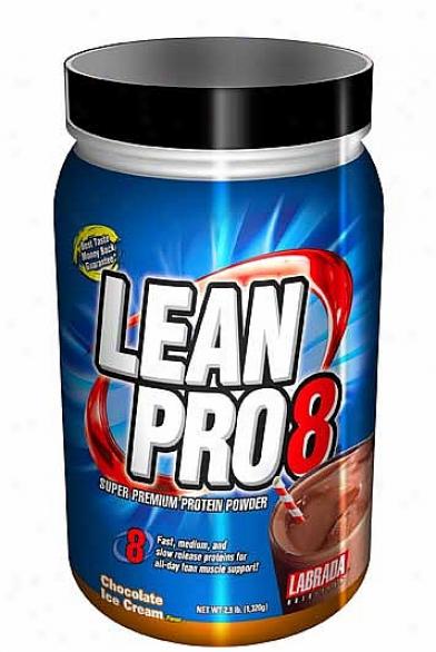 Lqbrada's Lean Pro 8 (super Premium Protein) Chocolate 2.9lb
