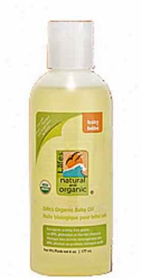 Lafe's Essential & Organic Baby Oil 6 Fl Oz