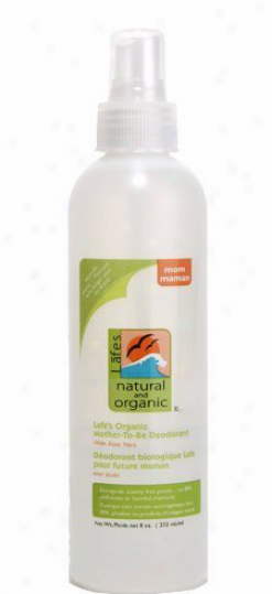 Lafe's Natural & Organic Mother-to-be Deodorant Spra6 8 Fl Oz