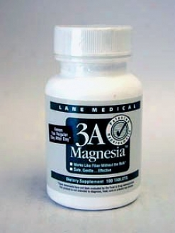 Lane Medical's 3a Magnessia 384 Mg 100 Tabs