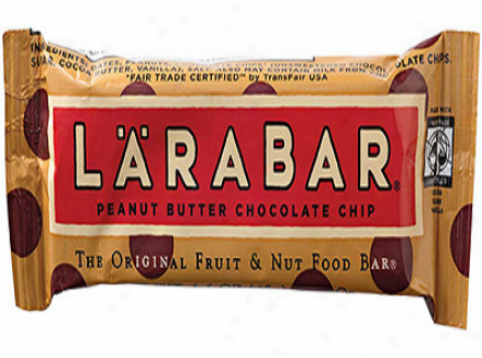 Larabar's Peanut Butter Chocolate Chip 16x1.6oz Bats