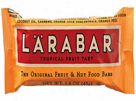 Larabar's Tropical Feuit Tart 16x1.6oz Bars