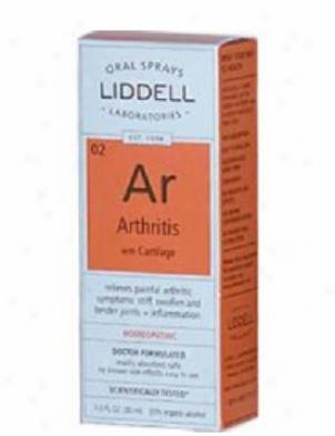 Liddell's Arthritis With Carttilage 1.0 Fl Oz