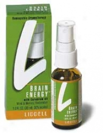 Liddell's Brain Energy 6x Liquid 1oz