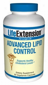 Life Extension's Advanced Lipid Hinder 60vcaps