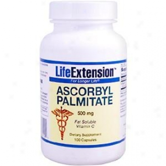 Life Extension's Ascorbyl Palmitate 500mg 100caps