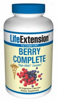 Life Extension's Berry Complete High-orac? Complex 30vcaps
