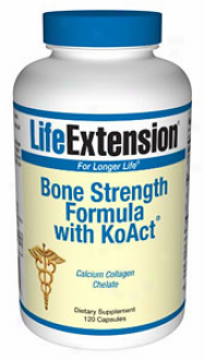 Life Extemsion's Bone Strength Formula W/ Koact 120caps