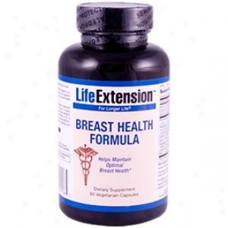 Life Extension's Breast Health Formula 60vcaps