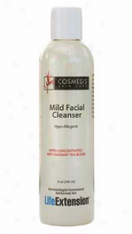 Life Extension's Cosmesis Husk Care Mild Facial Cleanser 8oz
