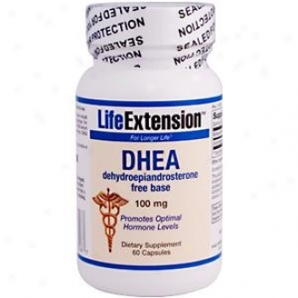 Life Extension's Dhea 100mg 60caps