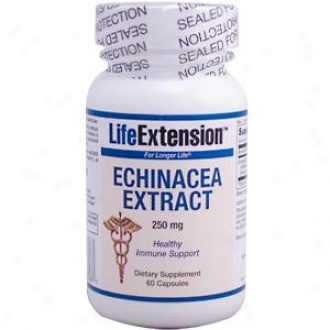 Life Extension's Echinaeca Extract 250mg 60caps