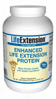 Life Extension's Enhanced Protein Powder Berry 100gm