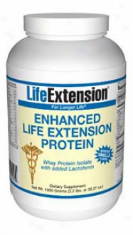 Life Extension's Enhanced Proyein Powder Vanilla 100gm