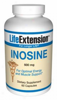 Life Extenwion's Inosine 500mg 60caps