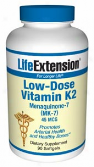 Life Extension's Low-dose Vitamin K2 90sg