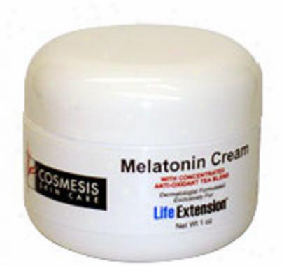 Life Extension's Melatonin Cream 1oz