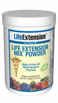 Life Extension's Mix Powder Without Copper 14.81oz