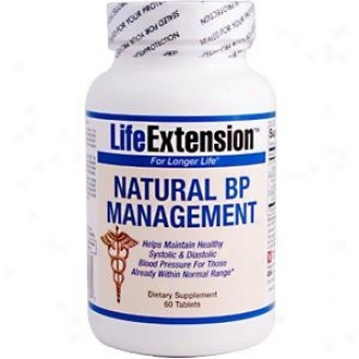 Life Extension's Natural Bp Management 60tabkets