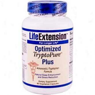 Life Extension's Optimized Tryptopure Plus 90vcaps