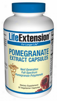 Life Extension's Pomegranate Extract 30vcaps