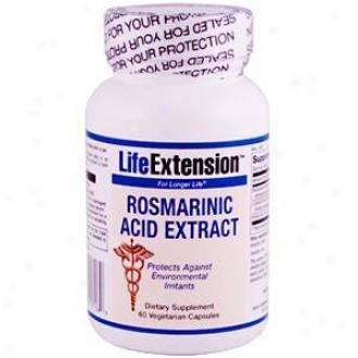 Life Extension's Rosmaribic Acid Extradt 60vcaps