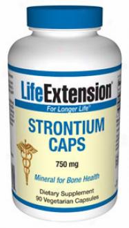 Life Extension's Strontium Caps 750mg 90vcaps