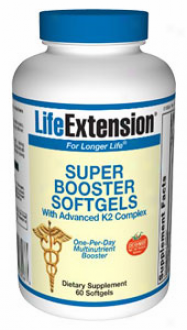 Life Extension's Super Booster With Advanced K2 Complex 60sg