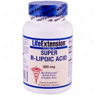 Life Extension's Super R-lipoic Acid 300mg 60vcaps