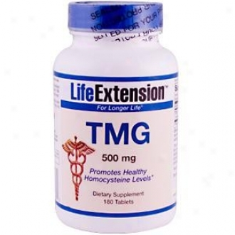 Life Extension's Tmg 500mg 180tabs