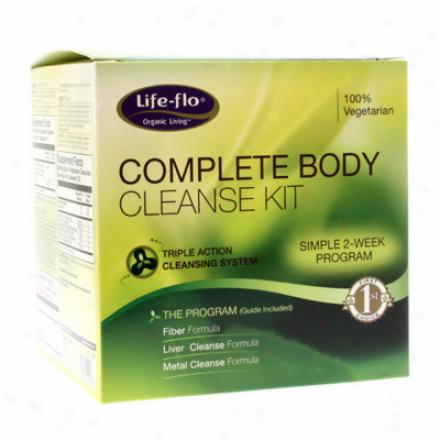 Life Flo's Complete Body Cleanse Kit 3pcs