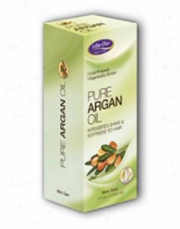 Life Flo's Pure Argan Oil For Skin & Hair 4oz