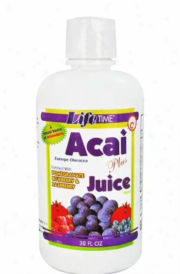 Lifetime's Acai Berry Juice Blend Plus 32 Fl Oz
